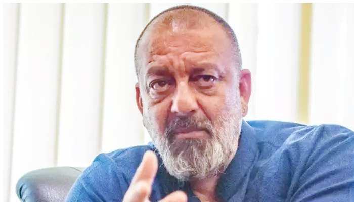 Sanjay Dutt once again reached Lilavati Hospital for a test