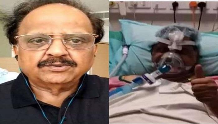 SP Balasubramanyam's condition improved