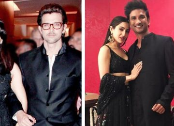 Kangana mentioned Hrithik with Sushant-Sara love story