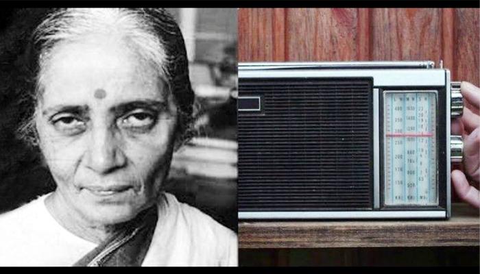 Usha Mehta, started the intelligence radio service