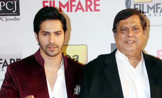Varun Dhawan's father birthday