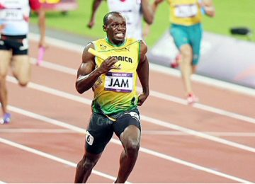 Usain Bolt won the gold medal of Olympics