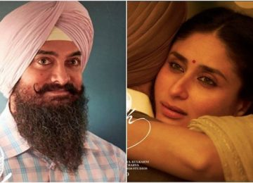 Kareena -aamir shoot 'Lal Singh Chadha' in Mumbai
