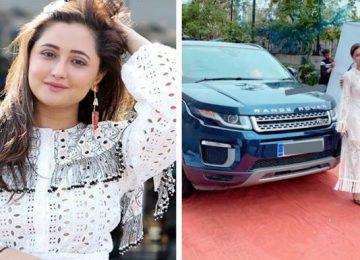 Rashmi Desai, bought this luxury car