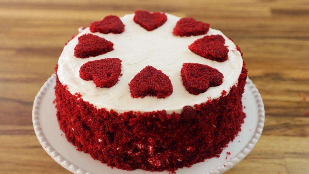 Easy to make red velvet cake at home