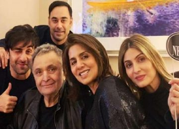 Riddhima emotional post on Rishi Kapoor's birthday