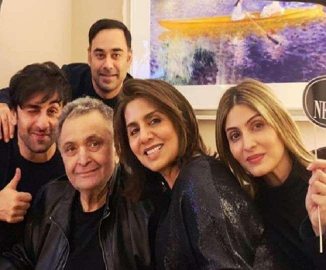 Riddhima emotional post on Rishi Kapoor's birthday