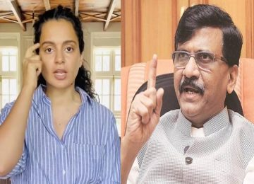 Kangana accuses Sanjay Raut of threatening