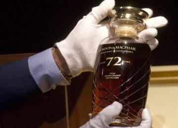 A bottle of liquor sold for 39 lakhs