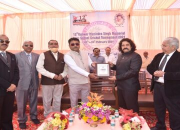 12th Kunwar Munidra Singh Memorial Inter-School Cricket Tournament