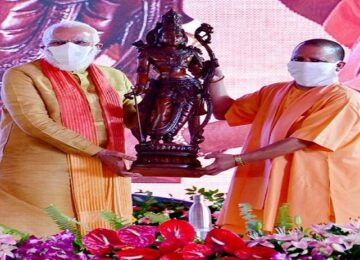 modi yogi with ayodhya