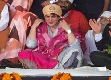 Priyanka Gandhi on sant Ravidas Temple in Varanasi