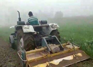 crop destroyed in bijnaur