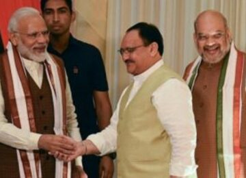 Bjp President nadda meeting with PM