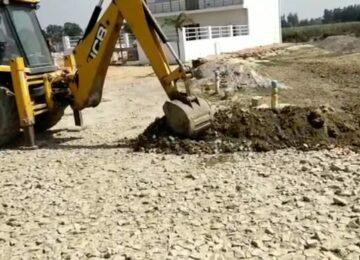 पुलिस ने लगभग 50 लाख की भूमि को कब्जा मुक्त कराया
