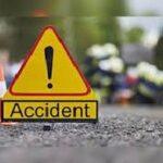 प्रतापगढ़ जिले में सड़क हादसा, दो की मौत सात घायल