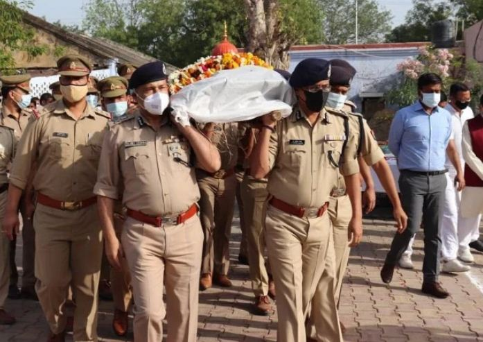 AGRA POLICE MURDER CASE