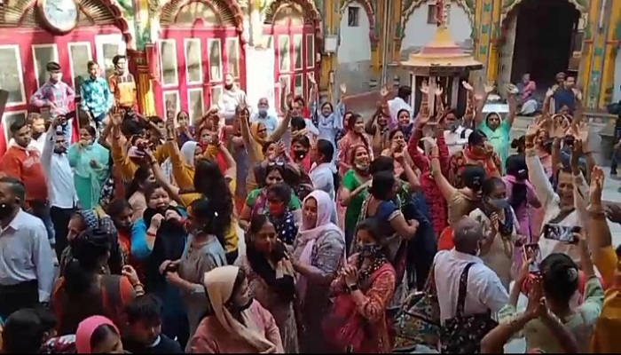 Holi Celebrated in Mathura