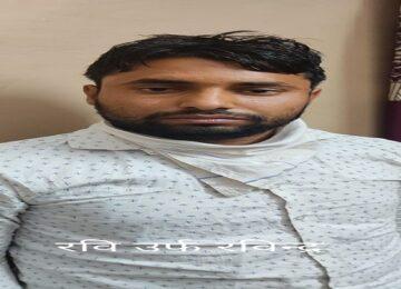 50 हजार का इनामी बदमाश को STF ने जयपुर से किया गिरफ्तार