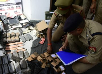 DCP took stock of the ruckus at the Indiranagar police station.