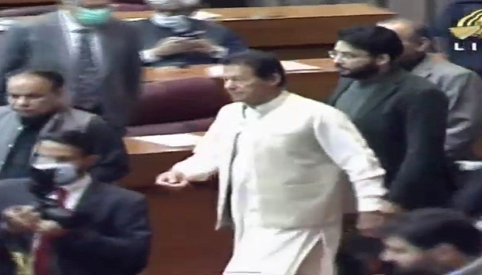 Imran Khan in Assembly