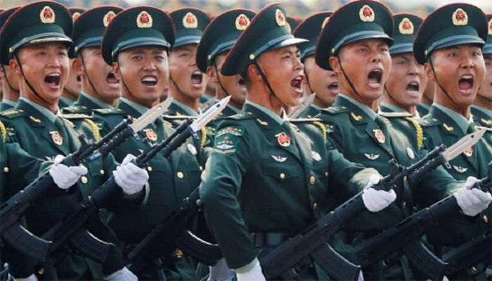 MOST POWERFULL ARMY CHINA