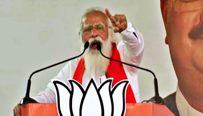 PM MODI IN WEST BANGAL