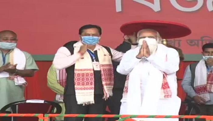 PM Modi in Assam