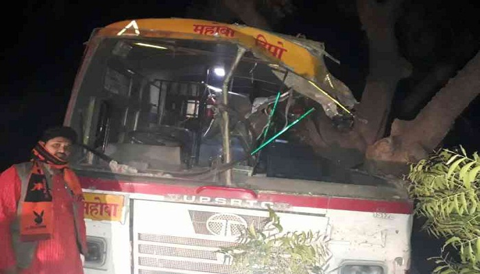 UNNAO BUS ROAD ACCIDENT
