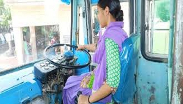 Womens Driver in UP Roadways