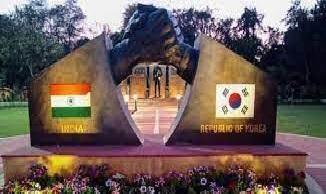 छावनी में भारत-कोरियाई मैत्री पार्क का उद्घाटन