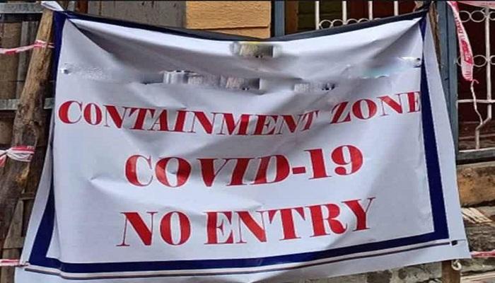 containment zones in Dehradoon