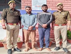 पुलिस ने बदमाशो को किया गिरफ्तार