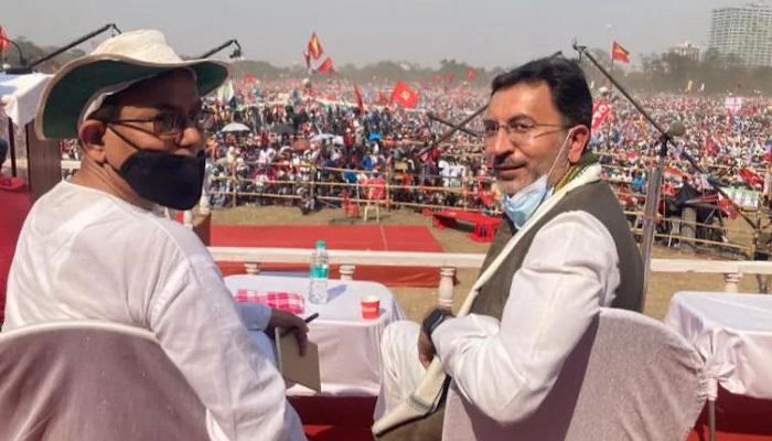 jitin prasad with adheer ranjan