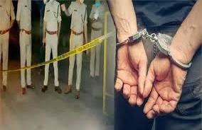 इनामी बदमाश को पुलिस ने मुठभेड़ में किया गिरफ्तार