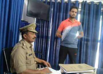 Police again interrogated the son of BJP MP
