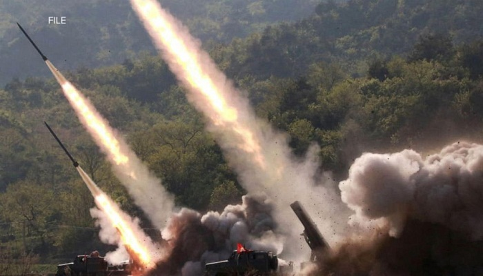 north korea launched two ballistic missiles