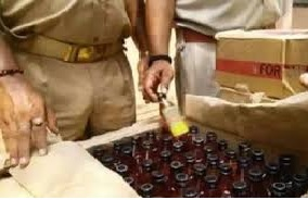 Police nabbed accused of doing illegal liquor business