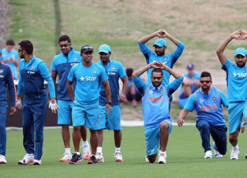team india practics session