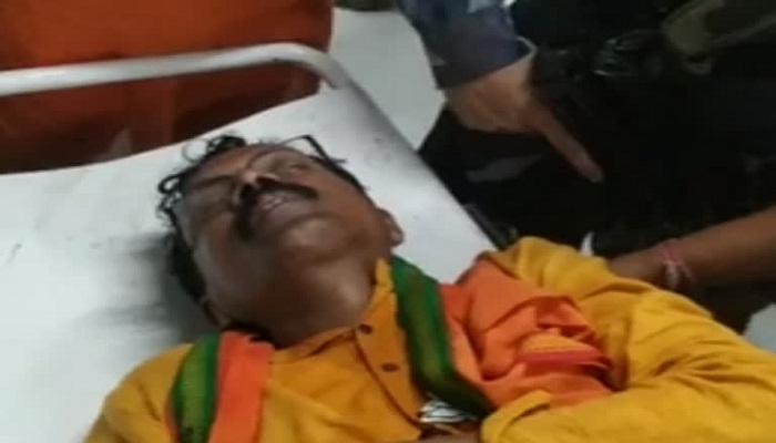 (Attack on BJP candidate in Bengal)