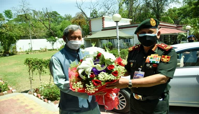 CDS Meet CM Uttarakhand