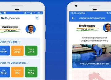 Delhi Corona mobile ap