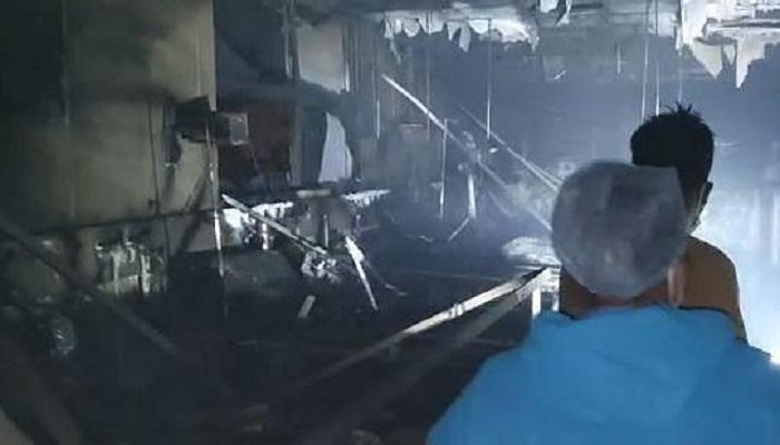 Fire in mumbai kovid hospital