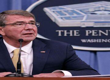 Former US Defense Minister Ash Carter