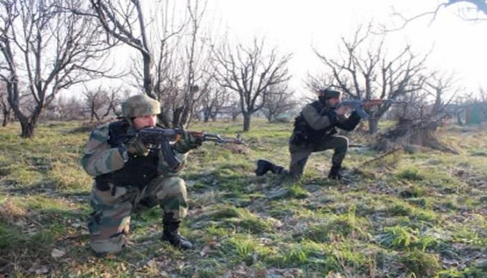 encounter between security forces and terrorist in shopian jammu kashmir