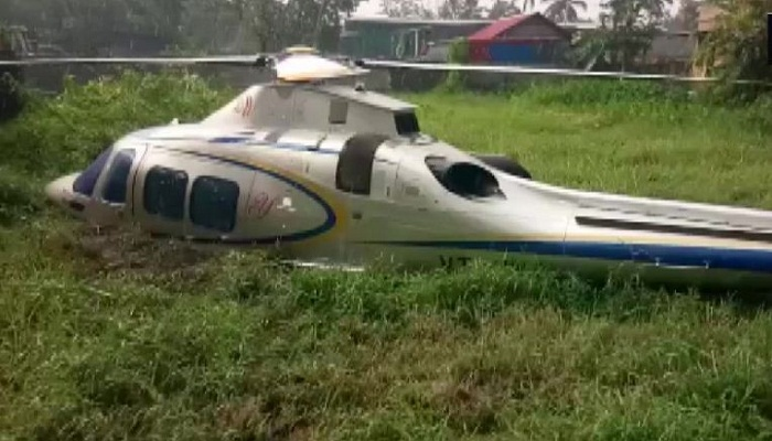 Keral crash helocopter