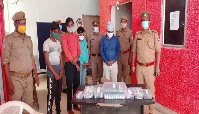 arrested for black marketing of remdesivir injections