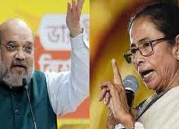 Mamta angry on amit shah