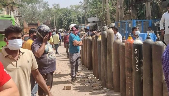 Oxygen line in delhi