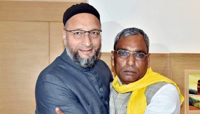 Rajbhar with owaisi